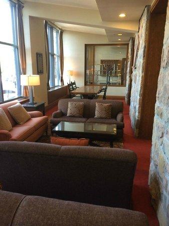 Fairmont Tremblant : Lobby area