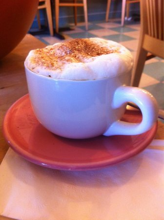 Old Town Cafe: Cappuccino