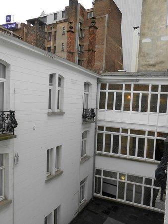 Hotel des Colonies: Aussicht von unserem Zimmer