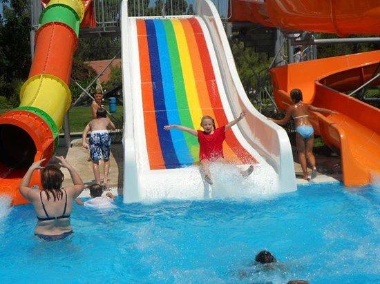 Sunrise Park Resort and Spa: aquapark