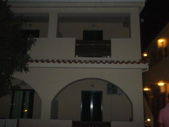 Agrilia Hotel: our hotel room
