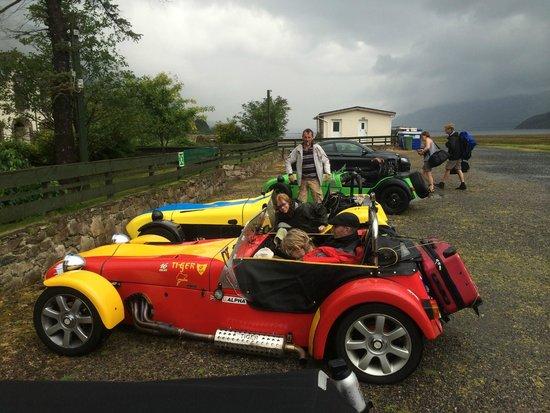 Dundonnell Hotel : Carclub friendly carpark