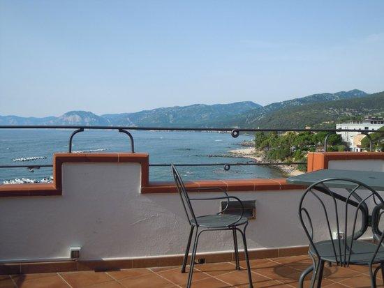 Bue Marino Hotel: Panorama sala colazioni