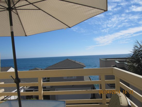 Seaside Laguna Inn & Suites : View from private balcony.
