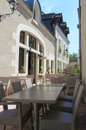 Le Relais Chenonceaux : Restaurante área externa