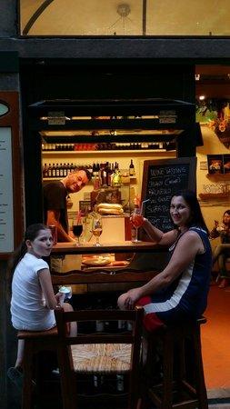 Amorino Panino E Vino: Best bar ever!!!