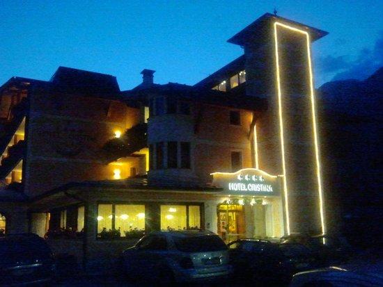Hotel Cristina: di sera