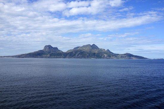 Scandic Bodo: 港近くの離れ小島、、、形状が印象的だった