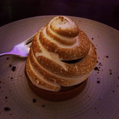 Maze: Not usually a big dessert person, but the lemon meringue was heavenly