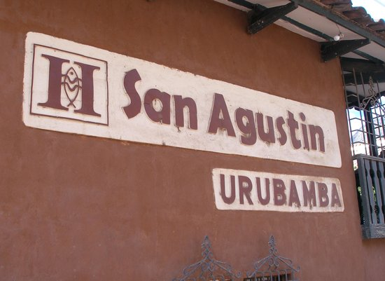 San Agustin Urubamba Hotel: Entrance sign