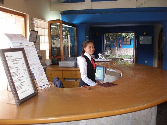San Agustin Urubamba Hotel: Reception