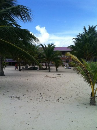 Miramar Apartments from ocean