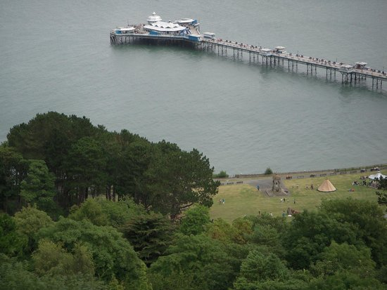 St. Hilary Guest House: A view from the Orme!