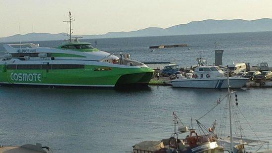 Poseidonio Hotel: fast ferry