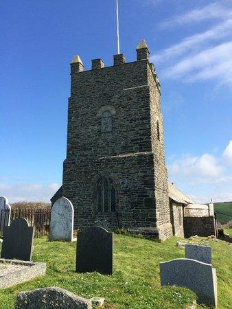 Bottreaux House Bed & Breakfast: Forrabury Church