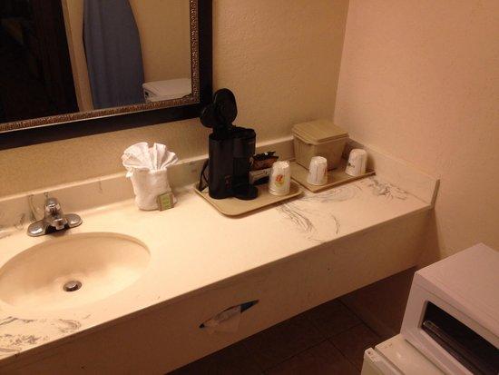 Super 8 Florida City/Homestead: In room sink