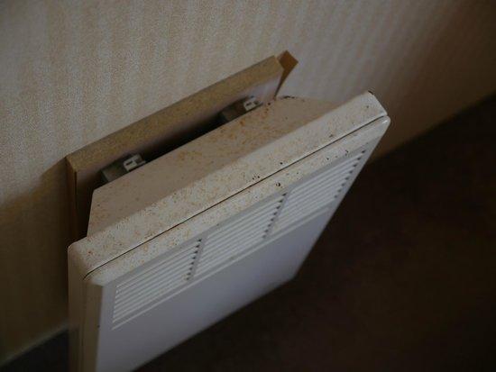 Rookley Country Park: rusty radiators