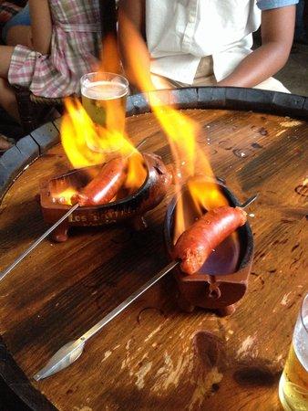 Los Barriles: Chorizo al infierno