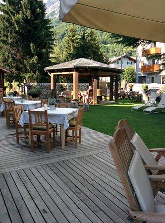 Hotel Baita dei Pini: Giardino
