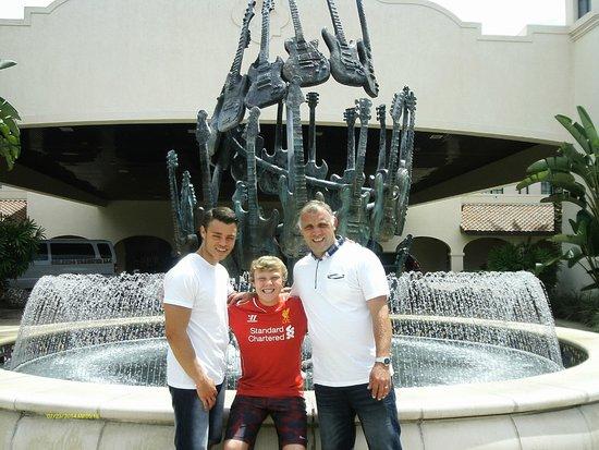 Hard Rock Hotel at Universal Orlando : FRONT ENTRANCE