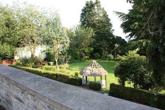 Melrose House: Garden beside the burrow