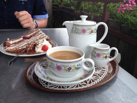 Cafe -Pension Feldbergblick : Eine der Spezialitäten des Hauses