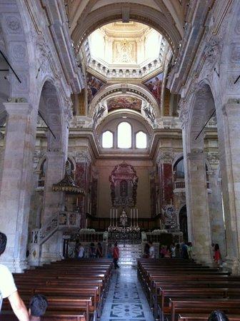 Cathedral of Santa Maria : Interno della Cattedrale di Cagliari