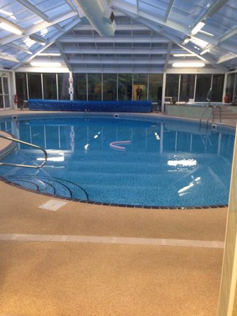 Knock Castle Hotel & Spa: The swimming pool