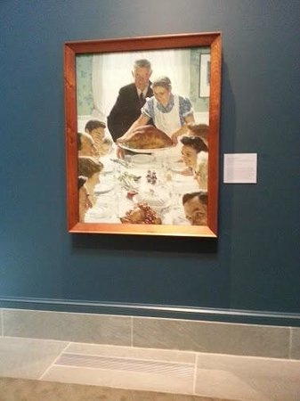 Norman Rockwell Museum: Country and family