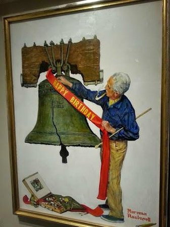 Norman Rockwell Museum: Proud of country
