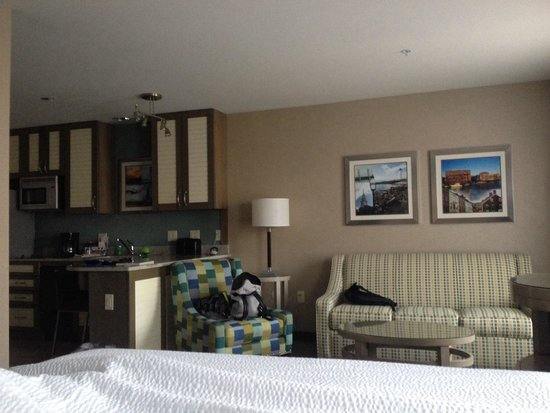 Residence Inn Portsmouth Downtown/Waterfront : Comfort room