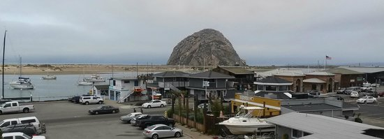 Morro Bay Sandpiper Inn: The Rock from the Embarcadero