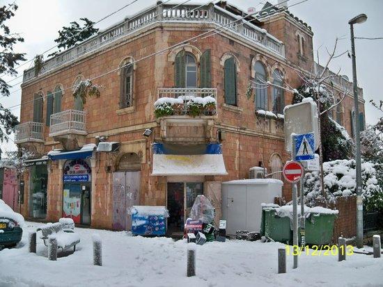 Vieille Ville de Jérusalem : Jerusalem in snow