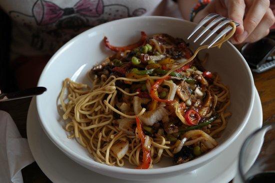 Corbie Inn: vegetarian sweet and sour