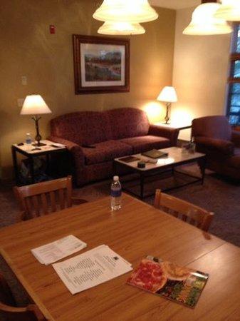 Grand Timber Lodge: living room