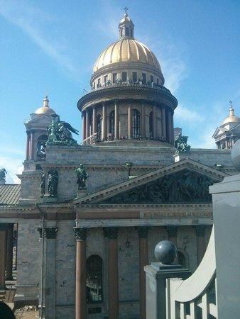 Four Seasons Hotel Lion Palace St. Petersburg: Deluxe room Isaaky Cathedral view