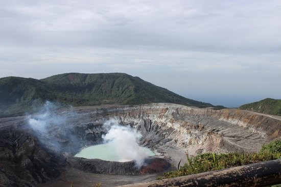 Poas Lodge and Restaurant : Poas Volcano