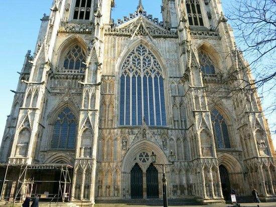 Cathédrale d'York : Front view of the Minster