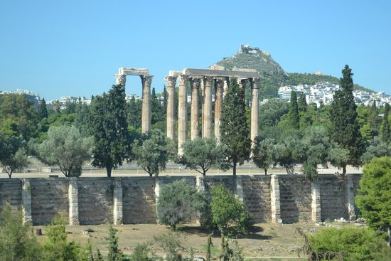 Royal Olympic Hotel: Zeus Temple