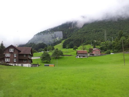 Männlichenbahn Grindelwald: Paisagem suiça.