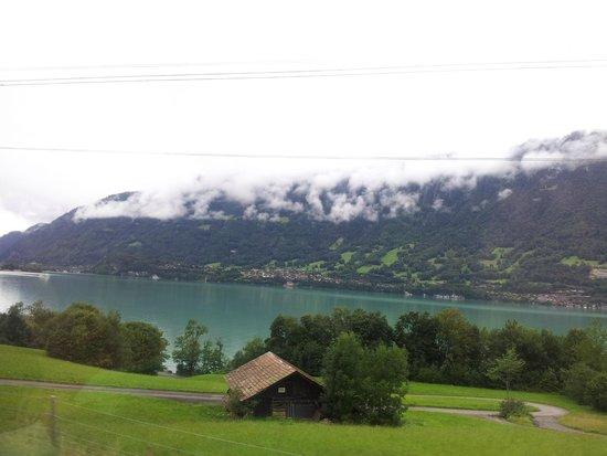 Männlichenbahn Grindelwald: Lago maravilhoso.