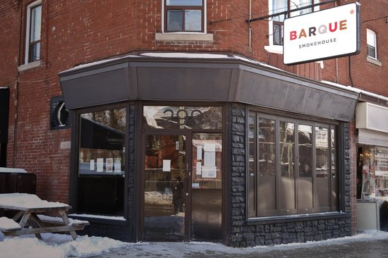 Photo of American Restaurant Barque Smokehouse at 299 Roncevalles Avenue, Toronto, ON M6R 2M3, Canada