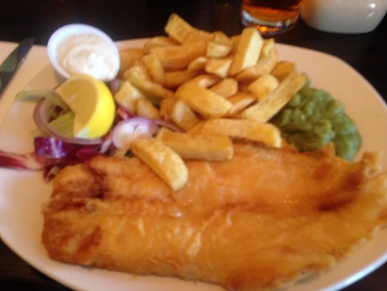 The City Restaurant: Fish & chips