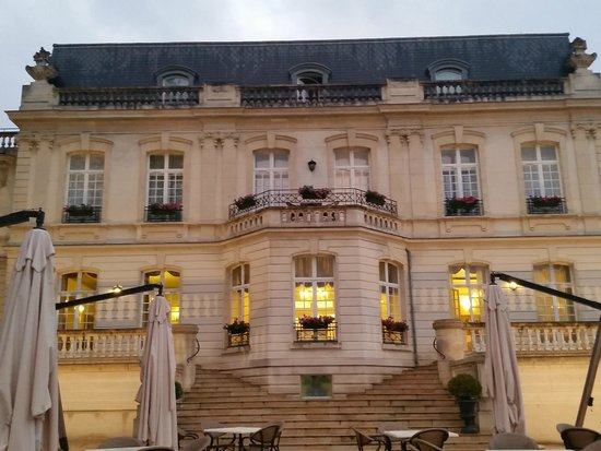 Chateau de Rilly: Hotel Front