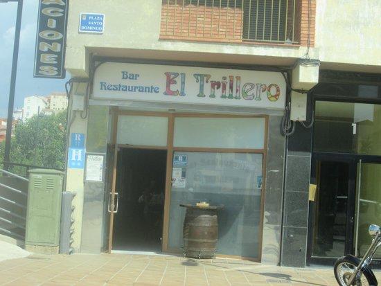 Restaurante El Trillero : entrada  restaurante hostal
