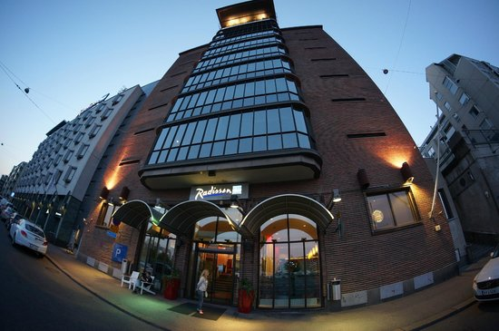 Radisson Blu Seaside Hotel, Helsinki: Night view