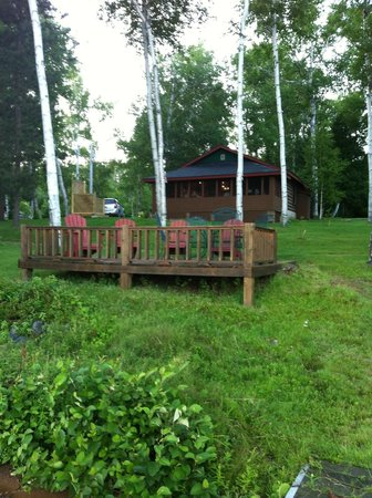 Hay Lake Lodge and Cottages: Cabin am Haylake