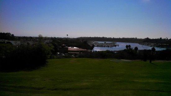 Hyatt Regency Newport Beach: View from the golf course