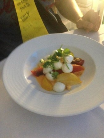 River Cafe : salade tomates et mozarella