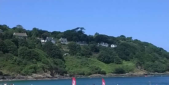 Carbis Bay Beach: view from the cafe